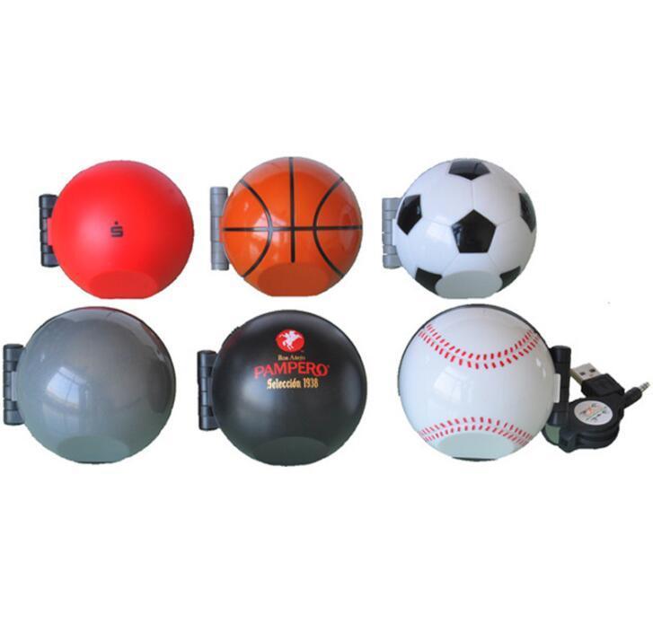 Custom Round portable Mini Speaker Bluetooth Football Music Wireless Speaker