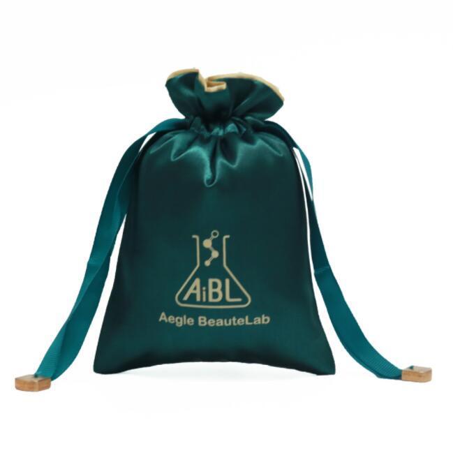 Custom Logo Velvet Drawstring Bag gift bag for Wedding Favour