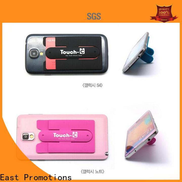 East Promotions cheap mobile phone holder supplier bulk production