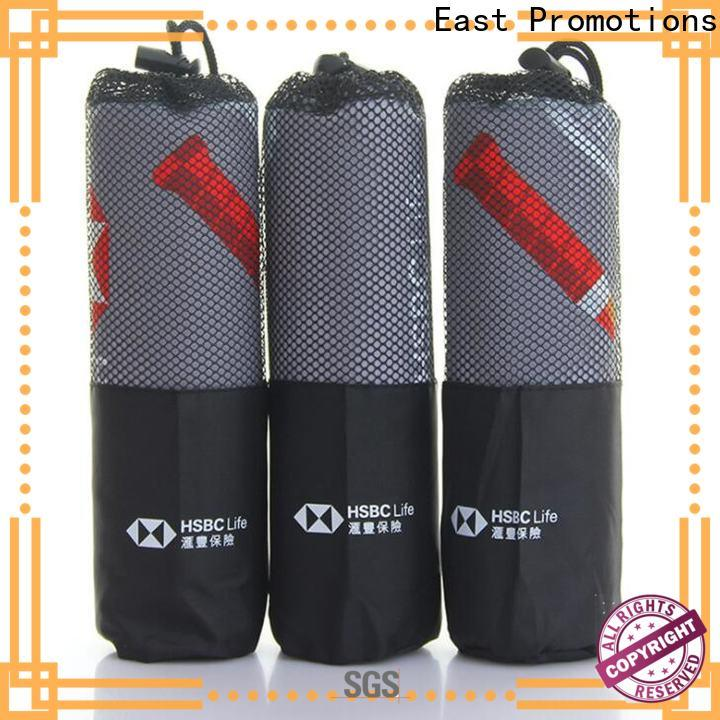 East Promotions dry off towel from China bulk production