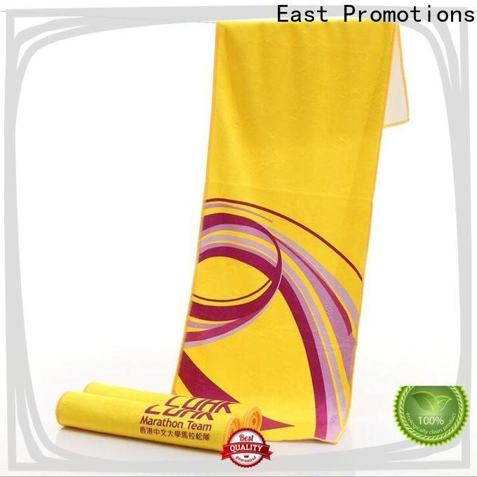 East Promotions custom gym towels from China for sports
