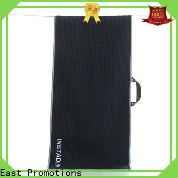top selling embroidered towels factory direct supply for traveling