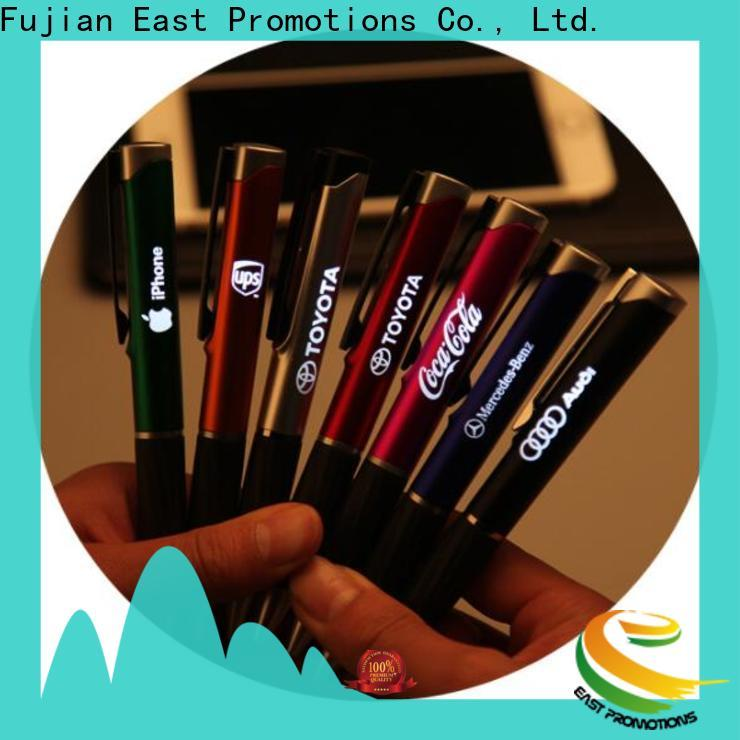 East Promotions promotional plastic pens supply for work