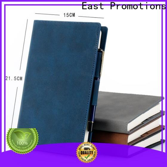 East Promotions notebooks for school with good price for gift