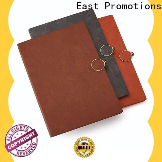 East Promotions a5 pu leather notebook best manufacturer for work