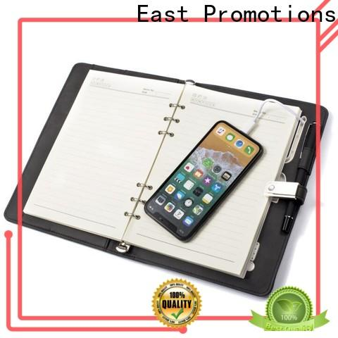 East Promotions journal notebook manufacturer bulk buy