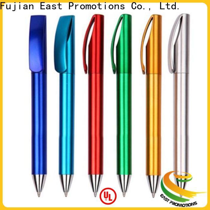East Promotions latest plastic ball pen suppliers bulk production