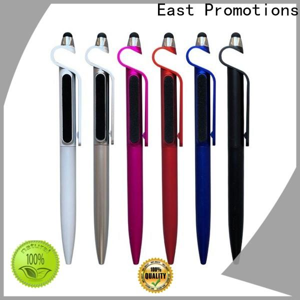 East Promotions high quality custom plastic pens with good price for school