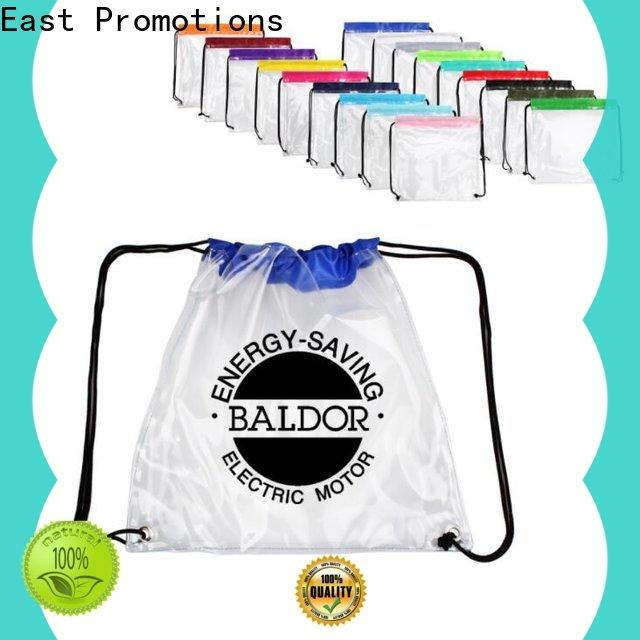 East Promotions drawstring pouch supplier for trip