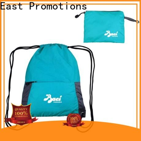 East Promotions drawstring backpack with pockets best supplier for sale