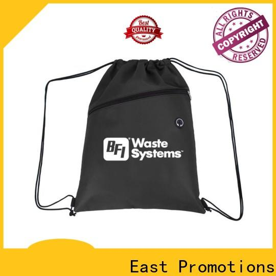 East Promotions cool drawstring backpacks suppliers bulk production