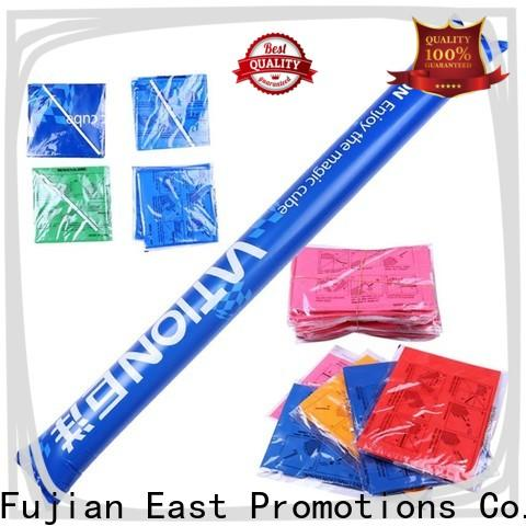 East Promotions latest inflatable boom sticks supplier for game