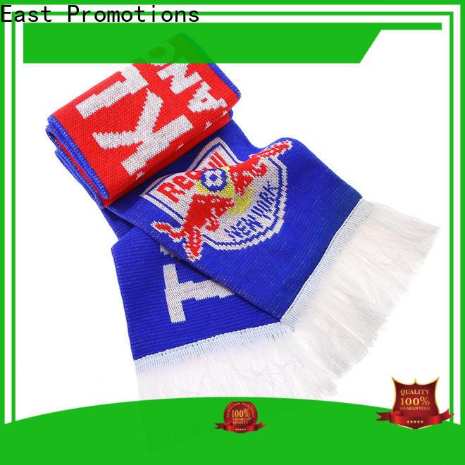 popular knitted football scarf supply bulk buy