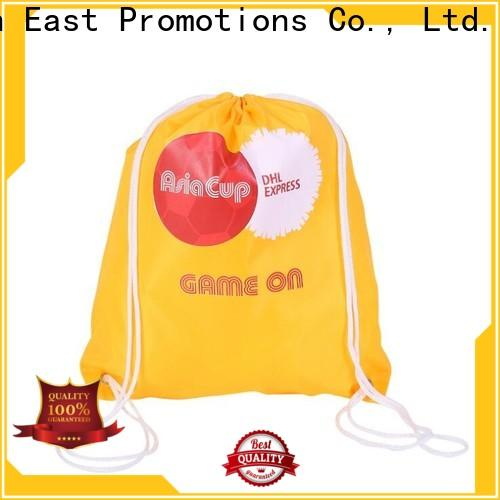 professional drawstring backpack with pockets best manufacturer for school