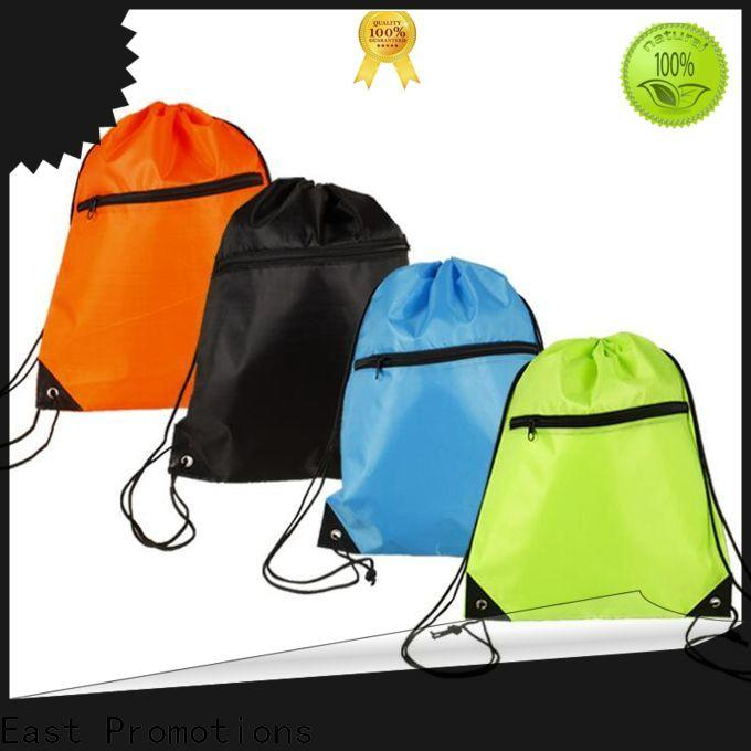 East Promotions practical waterproof drawstring bag suppliers for packing