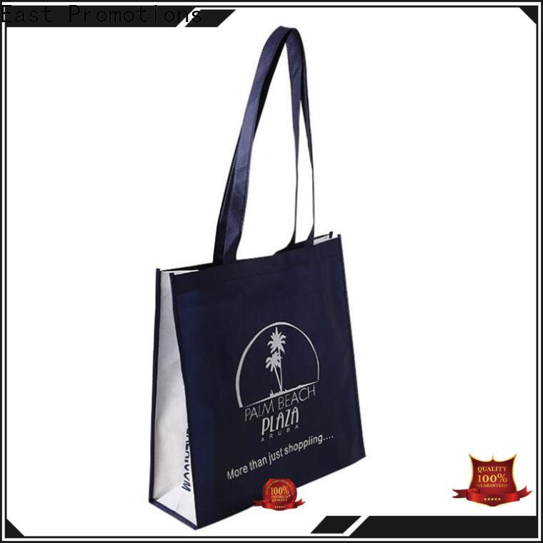 East Promotions quality custom bags with logo suppliers for supermarket