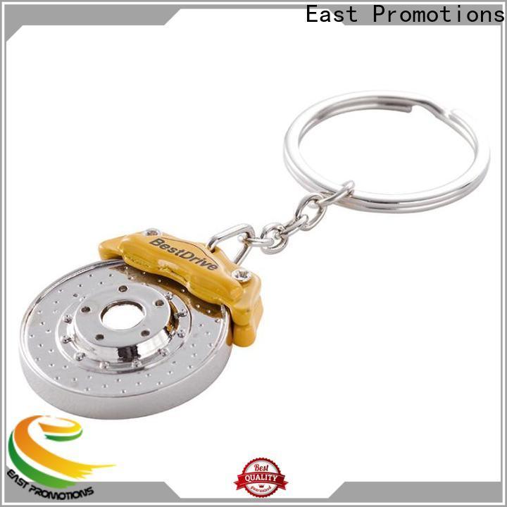 latest custom logo metal keychains best supplier bulk production