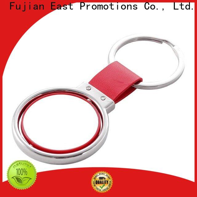 East Promotions worldwide promotional metal keychains with good price for decoration