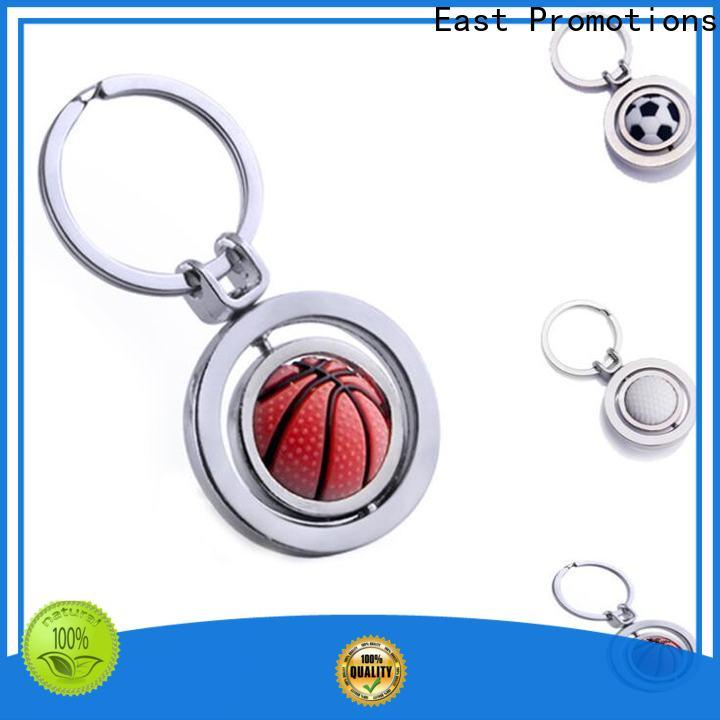 East Promotions custom metal keychains supplier bulk buy
