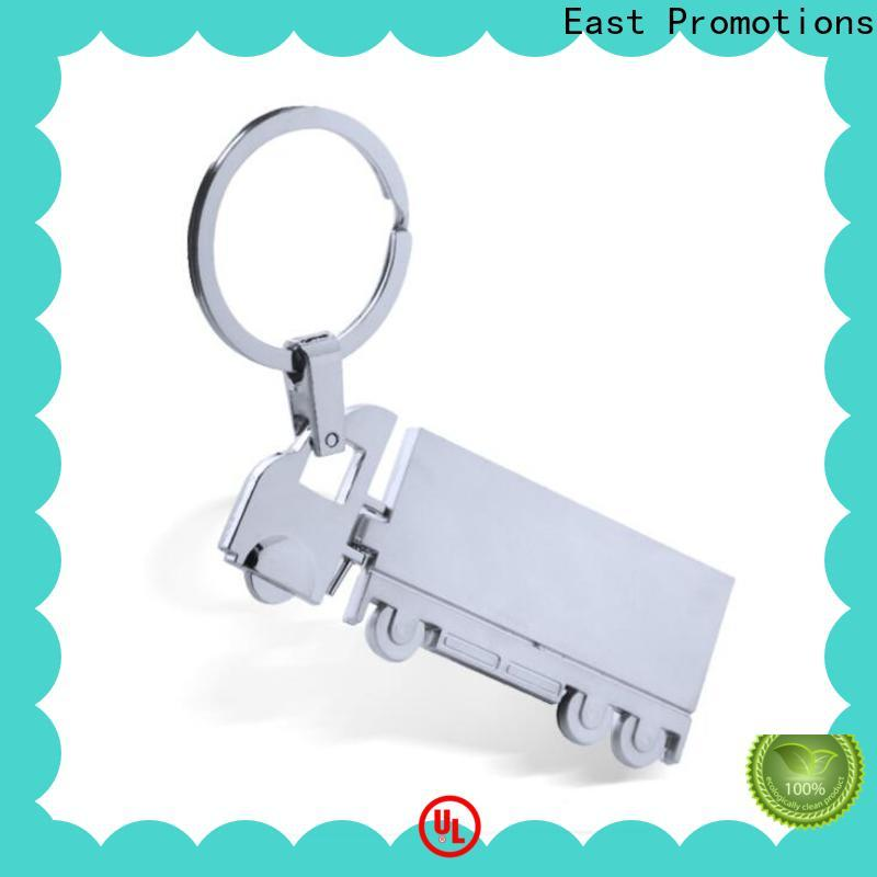 East Promotions high quality blank metal keychains company for decoration