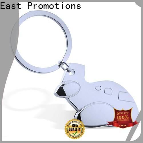 latest metal logo keychain factory direct supply for key