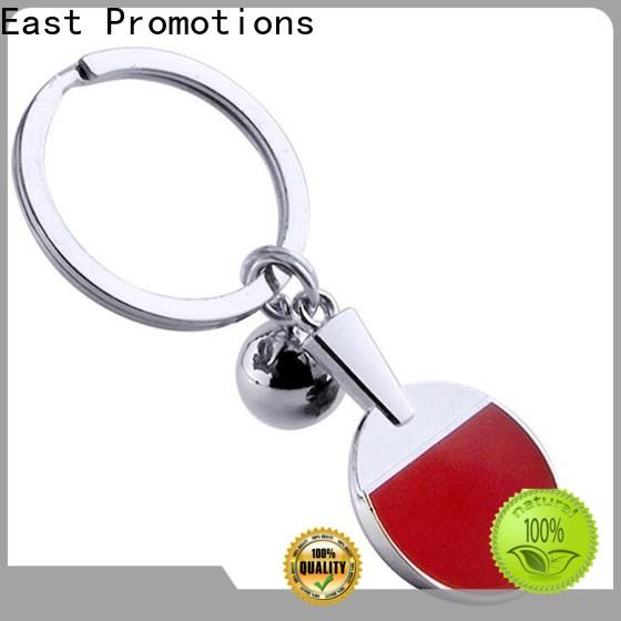 East Promotions high quality promotional metal keyrings company for sale