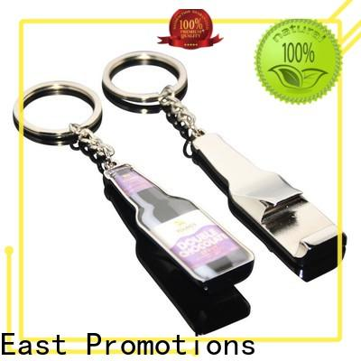 East Promotions metal keychain blanks with good price for sale