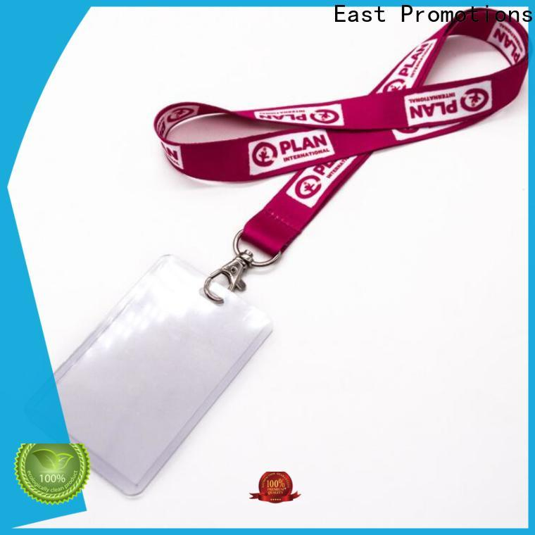 East Promotions id card holder lanyard supplier for sale