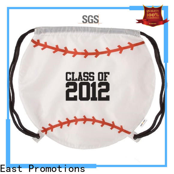 East Promotions drawstring school bag suppliers for gym