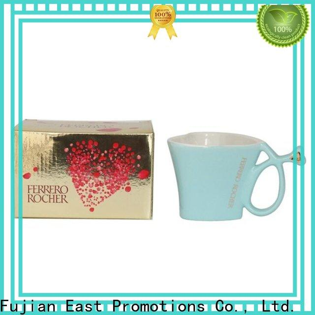 East Promotions coffee mug gift series bulk production