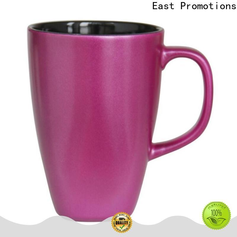 East Promotions factory price custom printed mugs factory direct supply for sale