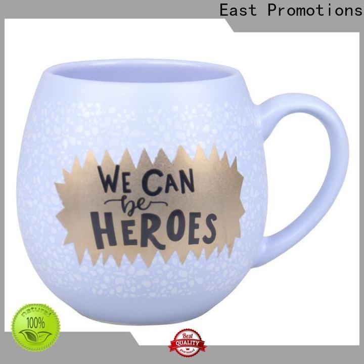 East Promotions practical personalised ceramic travel mugs supply for water