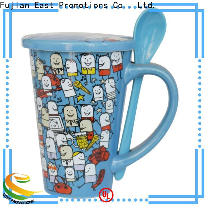 East Promotions custom coffee travel mugs inquire now for juice