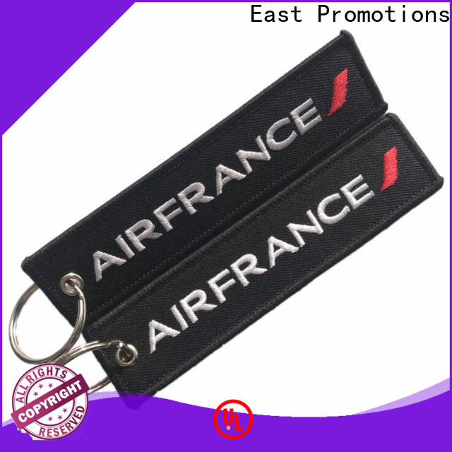 East Promotions hot-sale cloth keychain suppliers for key