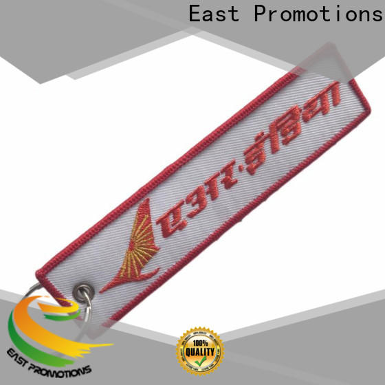 East Promotions embroidered keychain supply for sale