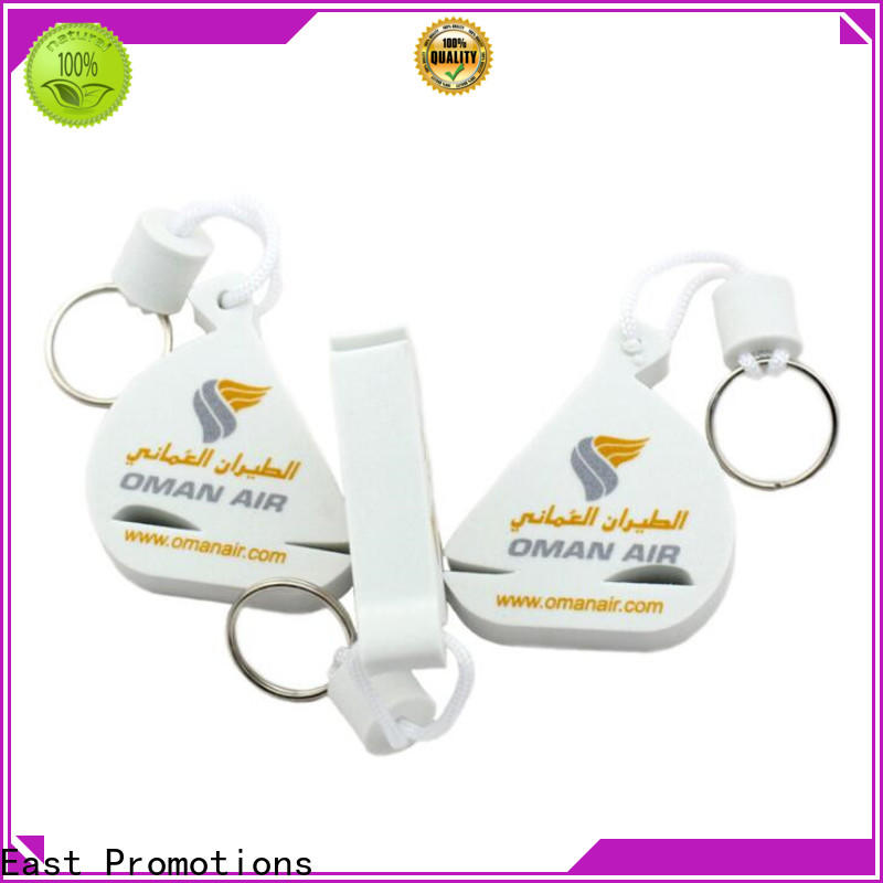 East Promotions low-cost foam keyrings wholesale for key