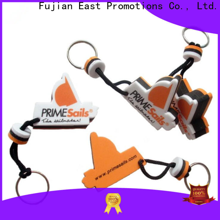 East Promotions new promotional key rings supplier bulk production