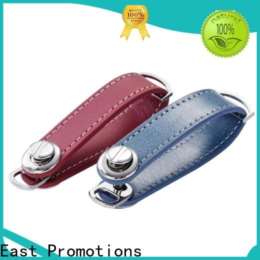 East Promotions leather coordinate keychain inquire now for sale