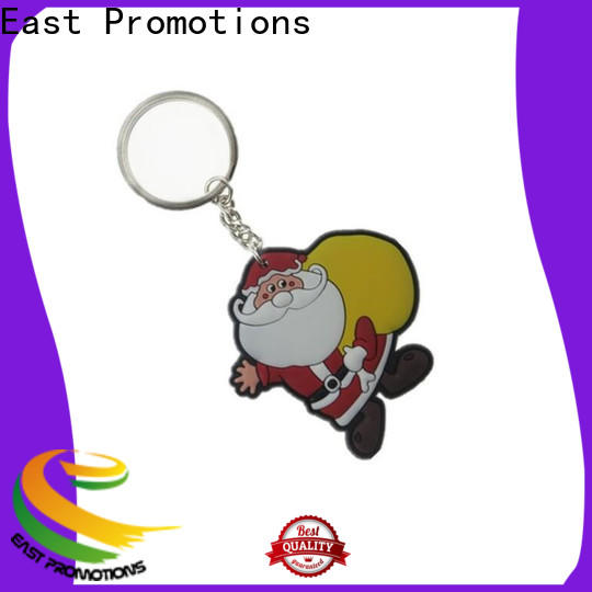top selling rubber keyring factory direct supply for sale