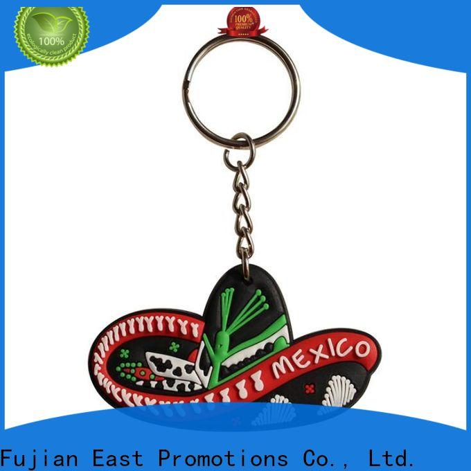 professional rubber key holder from China for gift