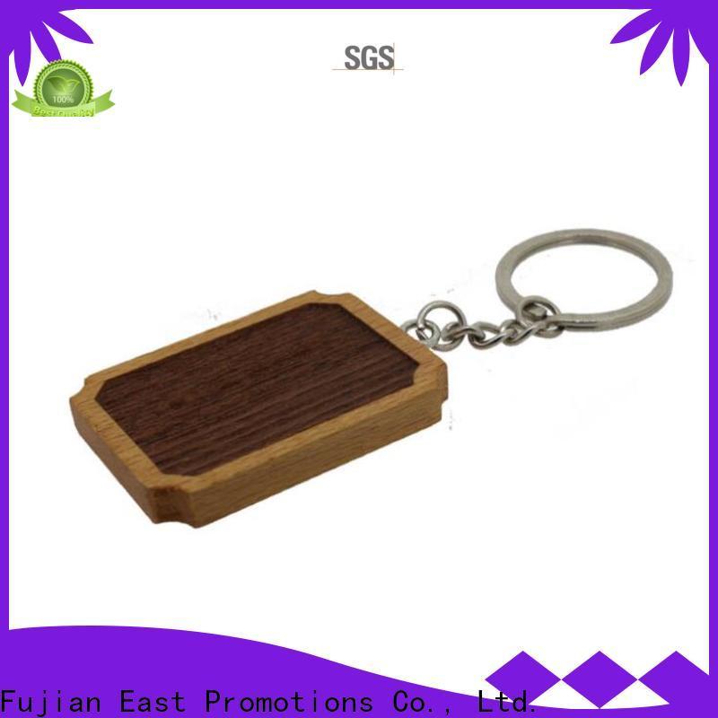 East Promotions wooden keyring supplier for sale