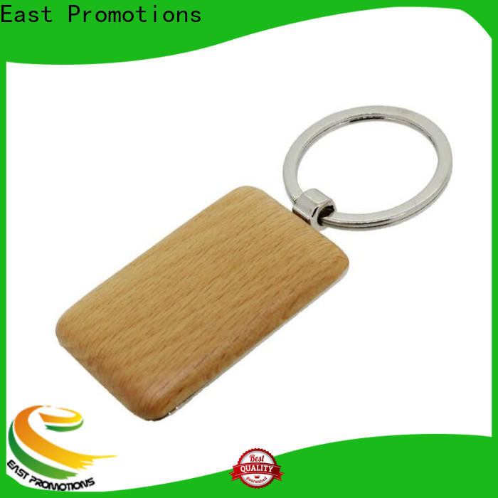 East Promotions wood carving keychain wholesale for gift