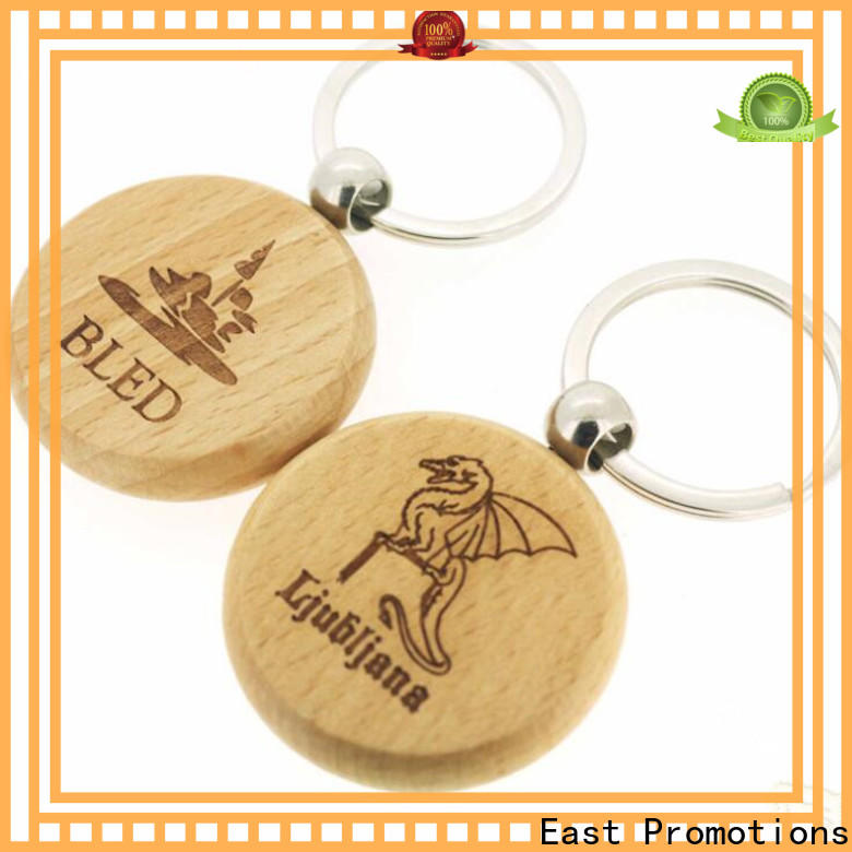 East Promotions latest wooden keyring directly sale bulk buy