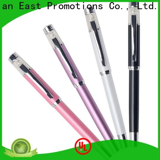 East Promotions low-cost metallic pens from China bulk production