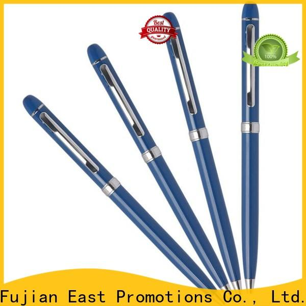 East Promotions best price slim metal pen factory direct supply for school