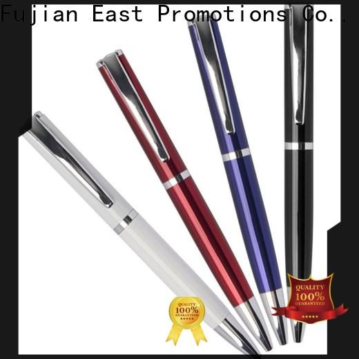 East Promotions high quality metal ballpoint pen suppliers for school