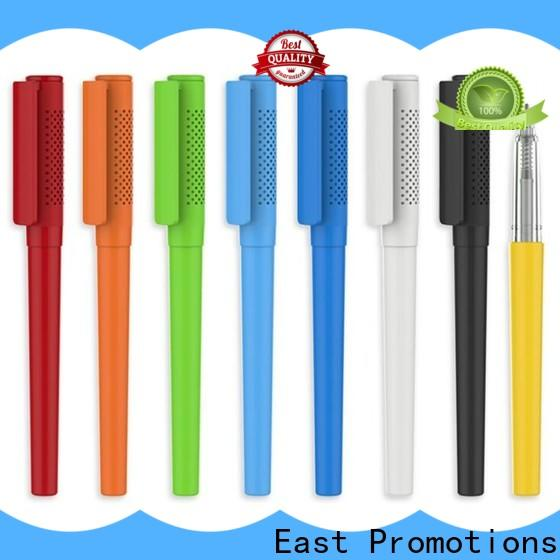 hot-sale plastic pens with logo with good price for school