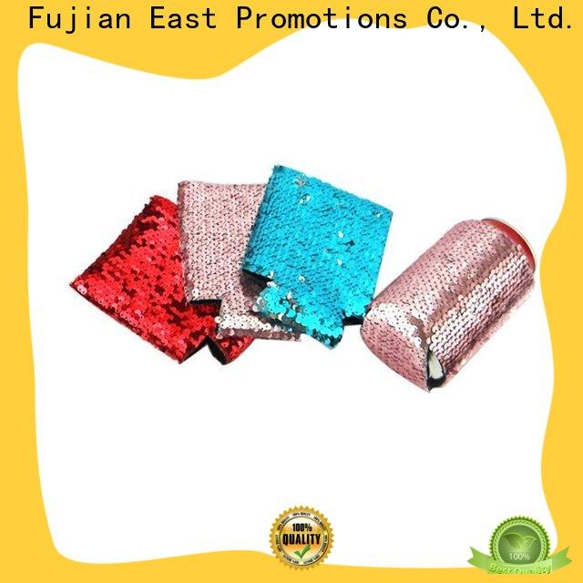 East Promotions low-cost soda can cooler manufacturer bulk buy