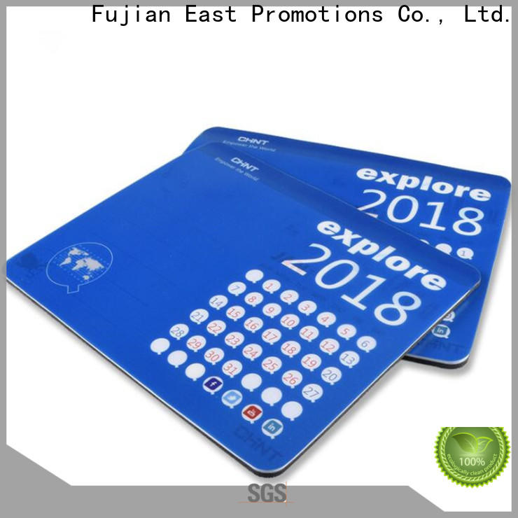 East Promotions high quality pu leather mouse pad with good price bulk production