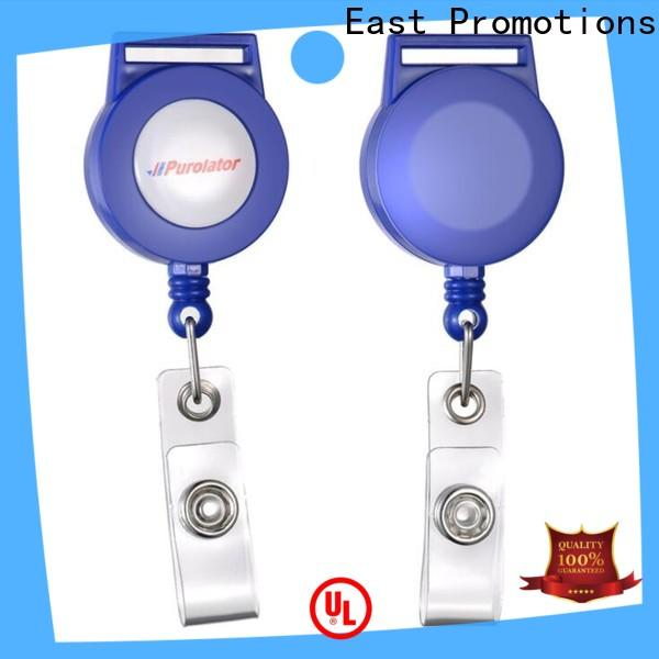 East Promotions high-quality retractable card reel inquire now for sale